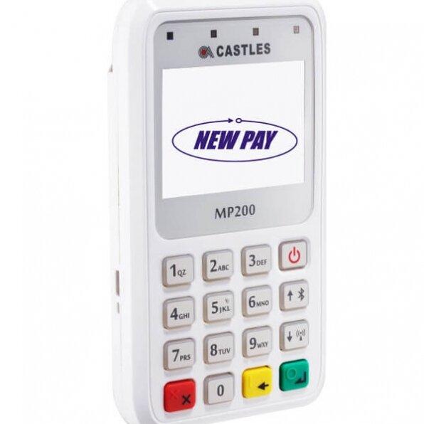 מסוף אשראי דגם MP200